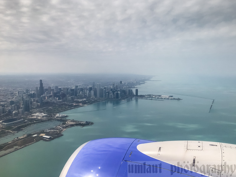 On approach into Chicago Midway.