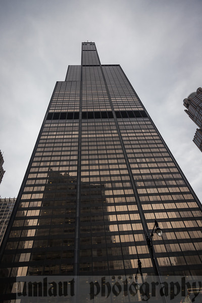 Is it just me or does the Willis (Sears) Tower look like it's giving you the finger??