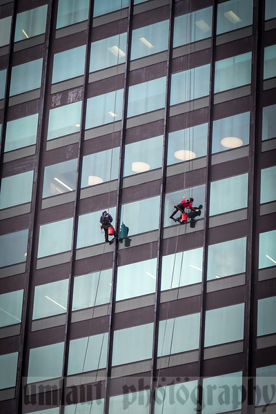 Yup!  It is.  Window Washers!!!  A WHOLE lotta nope on that job.