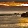 Bandon Beach Sunset (8965)