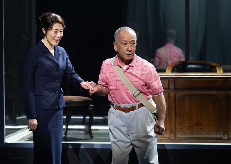 Shinobu Terajima, Katsumi Kiba
