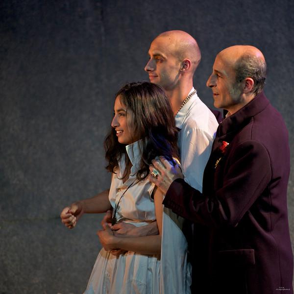 Angélique Zaini, Jean Pavageau, Malik Faraoun