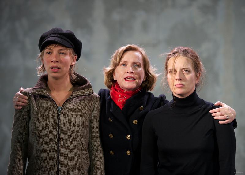 Nina Renaux, Christine Brücher, Florence Janas
