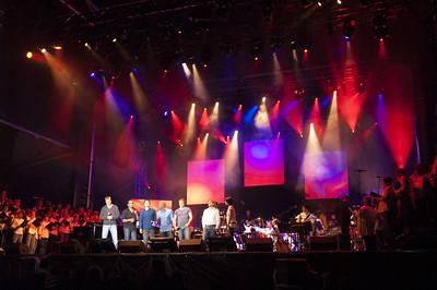 """Mondial choral, Saint-Jean 2008, Hommage À Harmonium l' """"Heptade"""""""