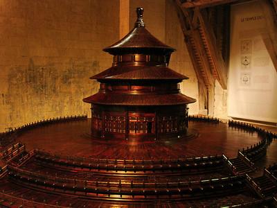Maquette temple du ciel Chambord 105 C-Mouton