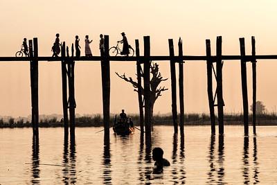 Le pont U-Bein Myanmar