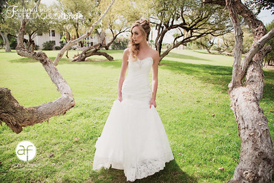 Bride on the Lawn 02