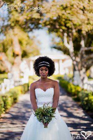 Bride on Driveway 07