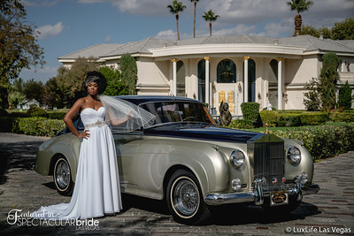 Bride With Classic Car 19