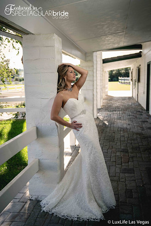 Bride at the stables 01