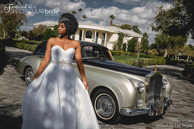Bride with Classic Car 17