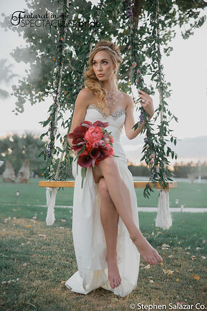 bride on swing 03