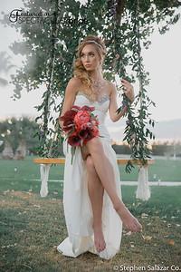 bride on swing 03