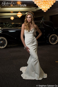 bride with classic car 13