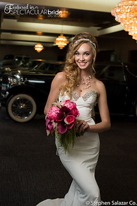 bride with classic car 07
