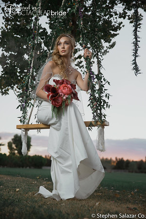 bride on swing 07