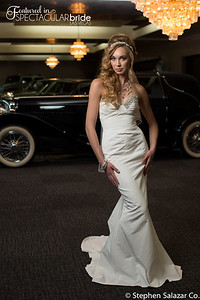 bride with classic car 11