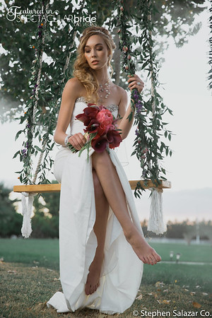 bride on swing 06