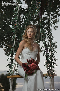 bride on swing 14