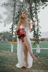 bride on swing 05