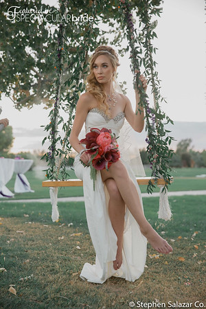 bride on swing 01