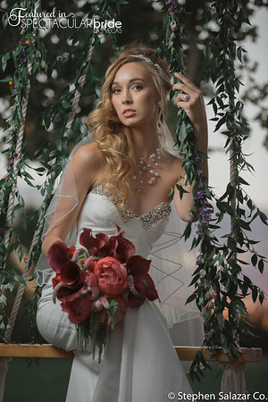 bride on swing 10