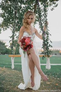 bride on swing 02