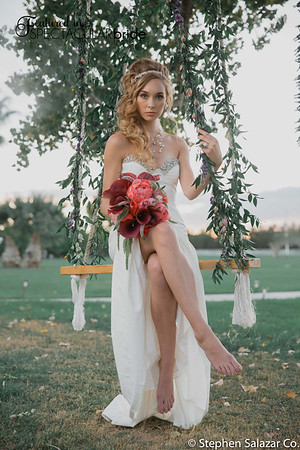 bride on swing 04
