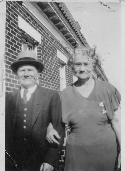 Grandma and Grandpa Sepector - 3/4/1935