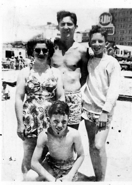David, Phil, Rose, Walter, Weinstein, 1948