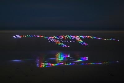 Rainbow Plesiosaur
