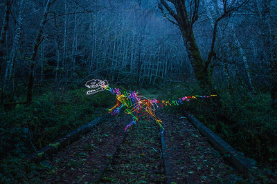 Allosaurus Crossing