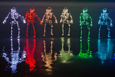 Spectrum of Skeletons