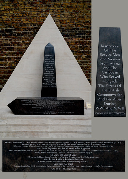 Brixton - African and Caribbean War Memorial