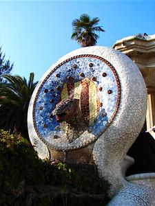 Barcelona - Parc Guell - Gaudi