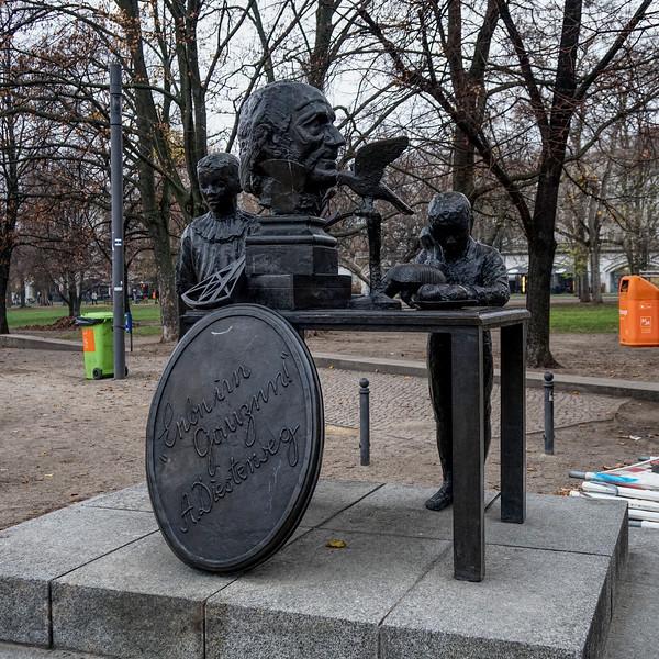 Statue to Adolph Diesterweg