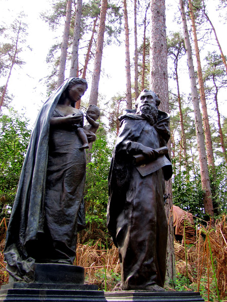 Holy Family Sculpture