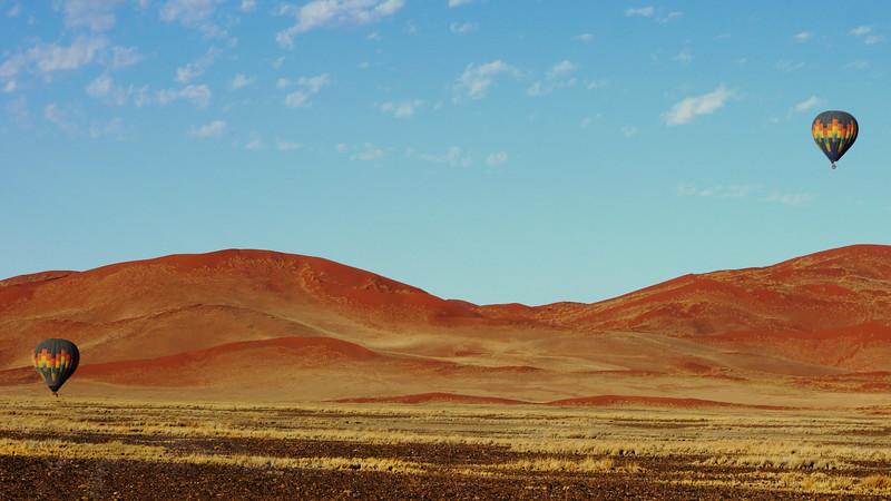 Balloons in the Desert - Namibia