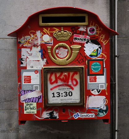Post Box in Brussels