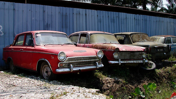 Old British Cars in Malaysia