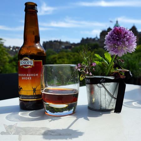 Edinburgh - A Glass of Beer