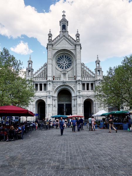 Saint Catherine Church - Brussels