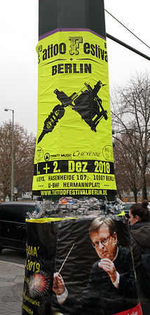 Berlin - Tattoo Festival Poster