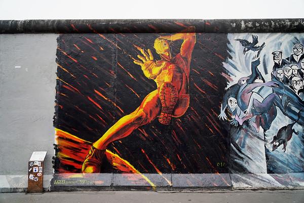 East Side Gallery, Berlin Wall