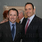 Speed Art Museum CEO Ghislain d\'Humieres and Governor Matt Bevin.