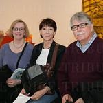 Sharon Gruber, Rosemary Funk and Rick Gruber.