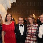Ledee Sachs, Holland Lynch, Speed Art Museum Chief Executive Officer Ghislain d'Humières, Mason and Allen Custards.