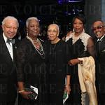 Ed and Bernadette Hamilton, Elmer Lucille Allen, Laura and Dr. Robert Douglas.
