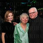 Fran Jasper, Sandy Gulick and Father Jerry Eifler.