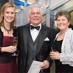 Kendra Foster, John Malloy and Sharon Malloy